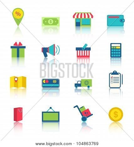 E-commerce Shopping Symbo
