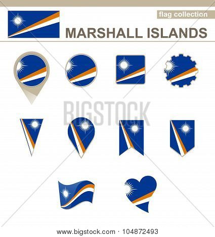 Marshall Islands Flag Collection