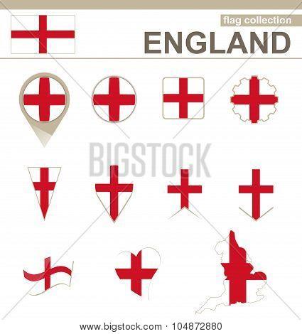 England Flag Collection