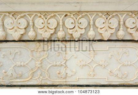 Decorative Marble Arch Taj Mahal