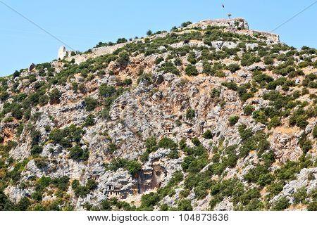 In  Myra Turkey Europe   Indigenous Tomb Stone