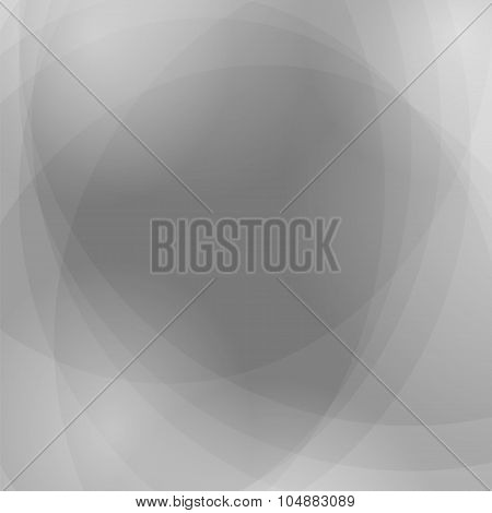 Vector Abstract Grey Wave Background