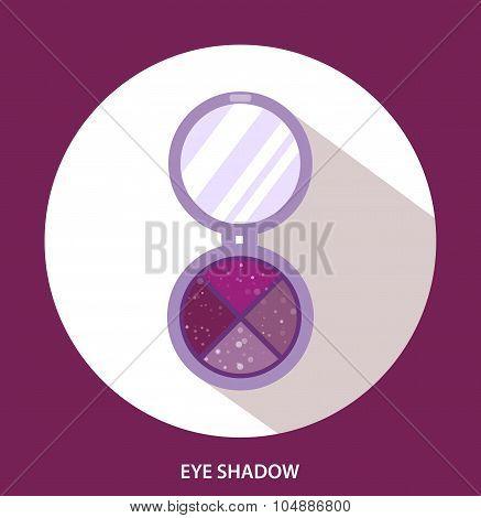 Eye Shadow, Woman Cosmetics, Flat, Eye Makeup. Beauty Store, Shop