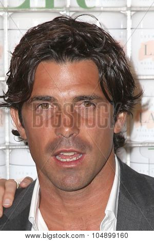LOS ANGELES - OCT 13:  Nacho Figueras at the La Mer Celebration Of An Icon Global Event at the Siren Studios on October 13, 2015 in Los Angeles, CA