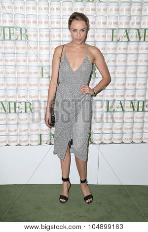 LOS ANGELES - OCT 13:  Jessica McNamee at the La Mer Celebration Of An Icon Global Event at the Siren Studios on October 13, 2015 in Los Angeles, CA