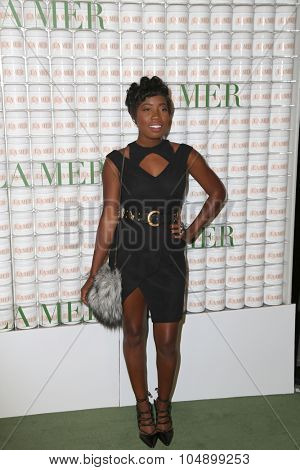LOS ANGELES - OCT 13:  Enocha Telius at the La Mer Celebration Of An Icon Global Event at the Siren Studios on October 13, 2015 in Los Angeles, CA