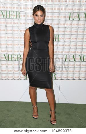 LOS ANGELES - OCT 13:  Liz Hernandez at the La Mer Celebration Of An Icon Global Event at the Siren Studios on October 13, 2015 in Los Angeles, CA