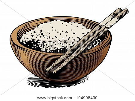 Rice In The Bowl