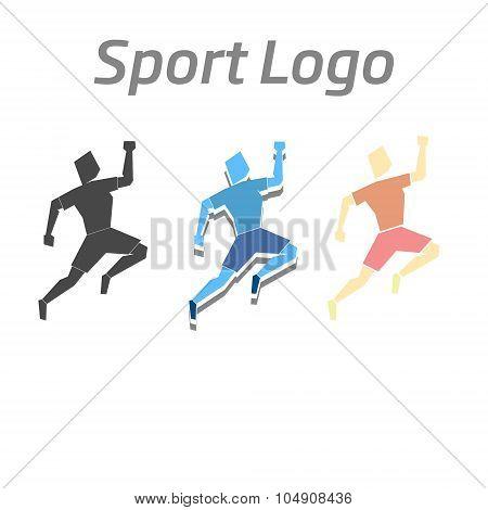 Sport logo athletic vector illustration