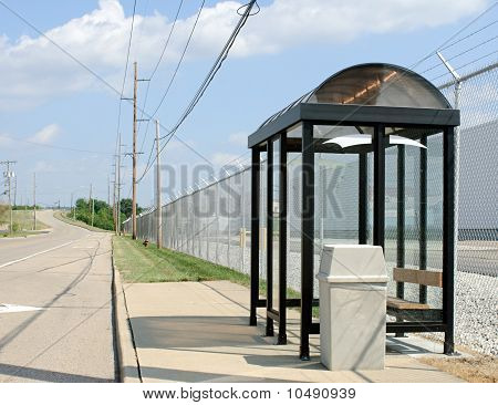 Roadside Bus Stop