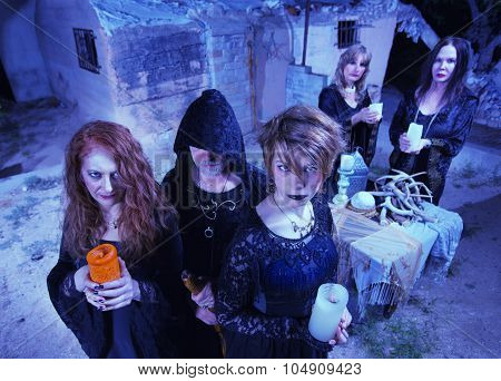 Coven Of Five Witches