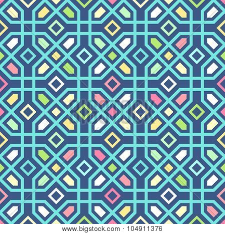 Seamless oriental pattern. Vector background