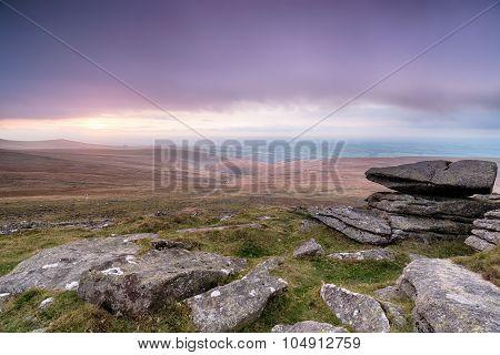 Stormy Dartmoor