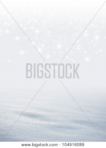 Magic White Snow Background