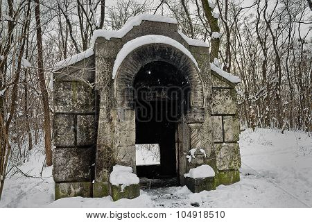 old ruined vault