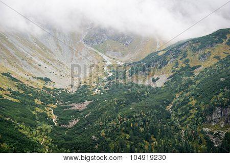 mountain view at Tatras