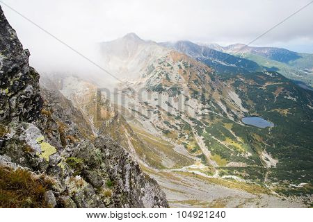 bird's eye view from Ostry Rohac, Tatras