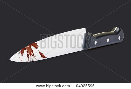 Kitchen Knife (clipping Path)