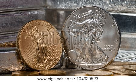 American Gold Eagle Vs. Silver Eagle