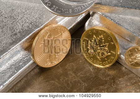 American Gold Eagle Vs. Canadian Gold Maple