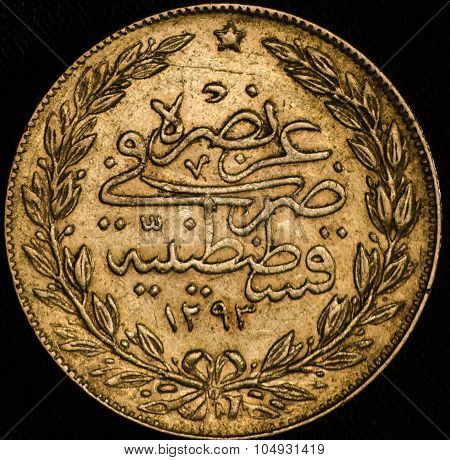 Kurush Turkey Gold Coin