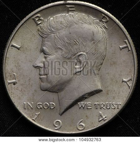 United States 1964 Silver Half Dollar