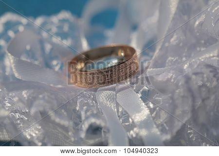 One Golden Wedding Ring
