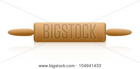 Rolling Pin Wooden Texture