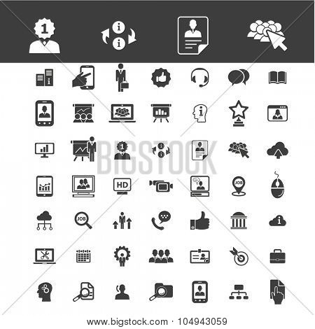 strategy, business, business perfomance, structure icons