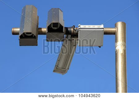 Three Outside Security Camera