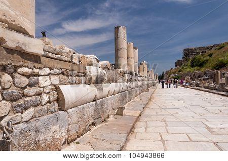 Marble Street, Ephesus Ancient City, Selcuk, Turkey