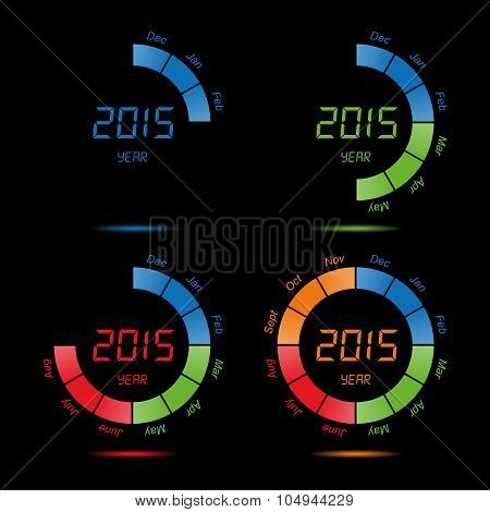 time, Countdown, counter, year