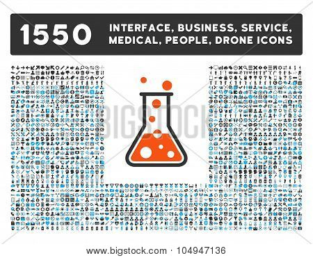 Boiling Liquid Icon and More Interface, Business, Medical, People, Awards Glyph Symbols