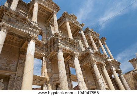 Library Of Celsus, Ephesus Ancient City, Selcuk, Turkey