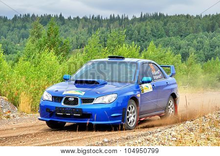 Rally Southern Ural 2012