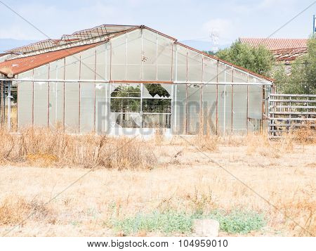 Greenhouses Abandoned Agriculture