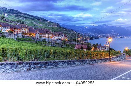 Lavaux region, Vaud, HDR