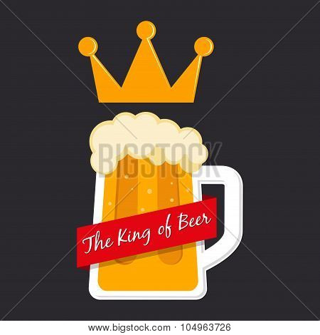 The King Of Beer Symbol