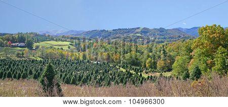 Appalachian Mountain Panorama