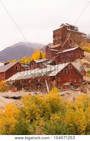 Wrangell St Elias Kennecott Mines Concentration Mill Alaska Wilds