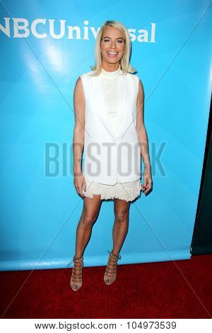 LOS ANGELES - AUG 12:  Caroline Stanbury at the NBCUniversal 2015 TCA Summer Press Tour at the Beverly Hilton Hotel on August 12, 2015 in Beverly Hills, CA
