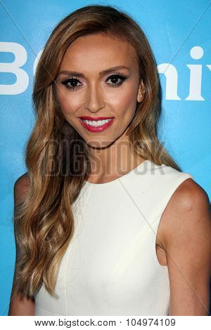 LOS ANGELES - AUG 12:  Giuliana Rancic at the NBCUniversal 2015 TCA Summer Press Tour at the Beverly Hilton Hotel on August 12, 2015 in Beverly Hills, CA