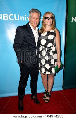 LOS ANGELES - AUG 12:  Donny Deutsch, Emily Tarver at the NBCUniversal 2015 TCA Summer Press Tour at the Beverly Hilton Hotel on August 12, 2015 in Beverly Hills, CA