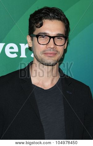LOS ANGELES - AUG 12:  Steven Strait at the NBCUniversal 2015 TCA Summer Press Tour at the Beverly Hilton Hotel on August 12, 2015 in Beverly Hills, CA