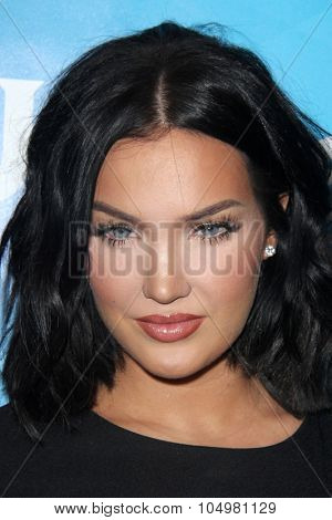 LOS ANGELES - AUG 12:  Natalie Halcro at the NBCUniversal 2015 TCA Summer Press Tour at the Beverly Hilton Hotel on August 12, 2015 in Beverly Hills, CA