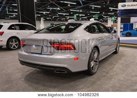 Audi A7 On Display.