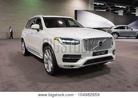 Volvo Xc 90 On Display.