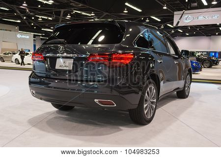 Acura Mdx On Display.