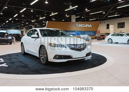 Acura Tlx On Display.