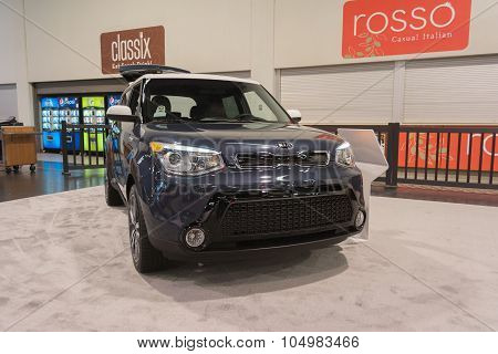 Kia Soul On Display.